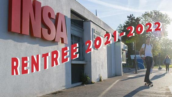 Rentrée Centre des Sports INSA LYON 2021-2022